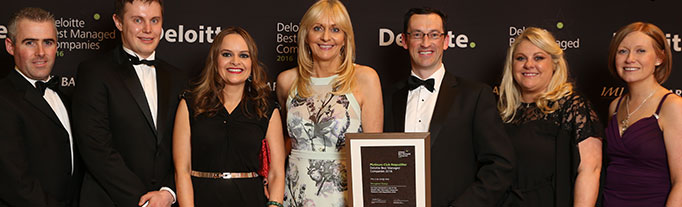 Deloitte best managed company award